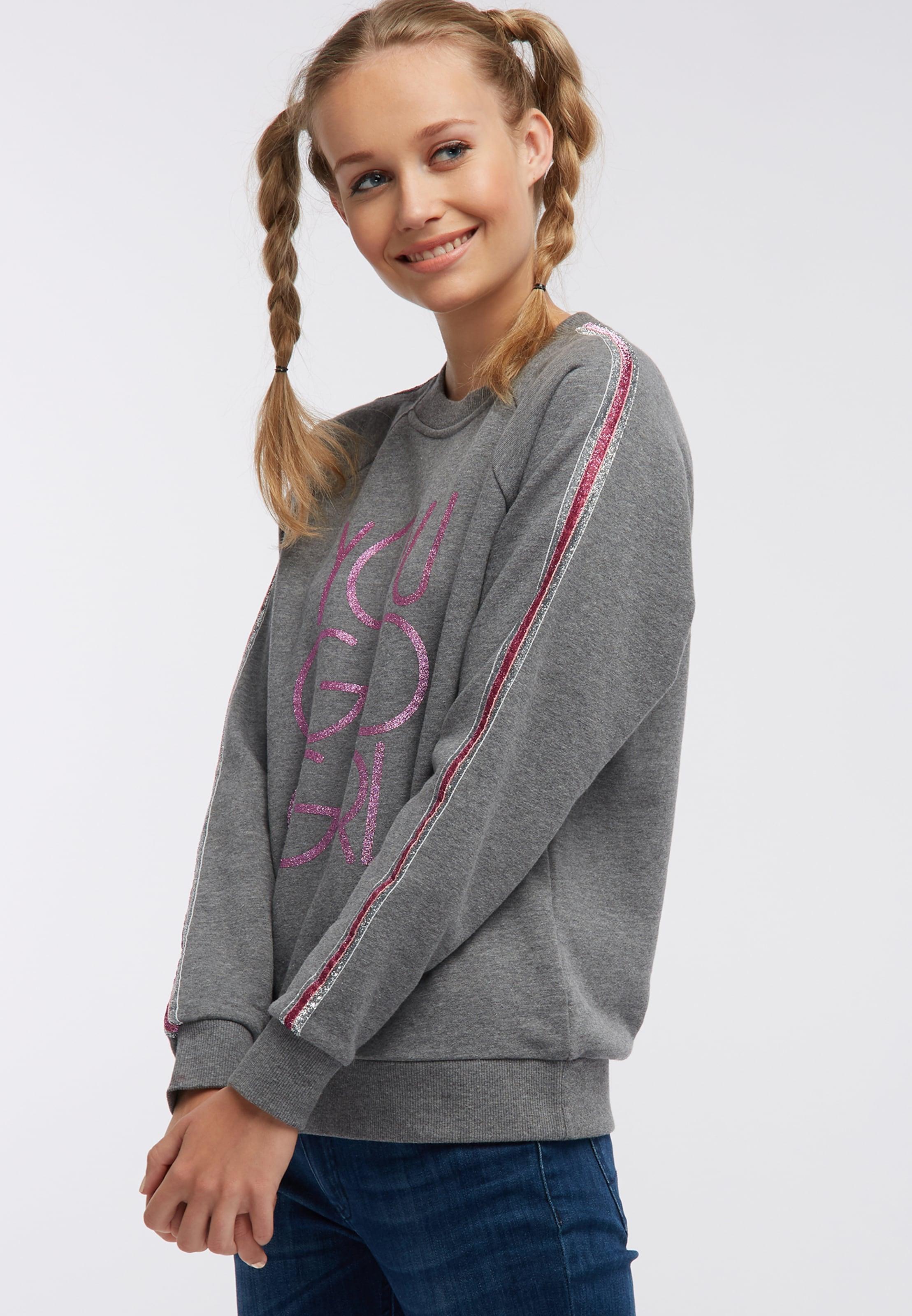 In Mymo Mymo Sweatshirt Sweatshirt GrauPink 7yYv6gfb