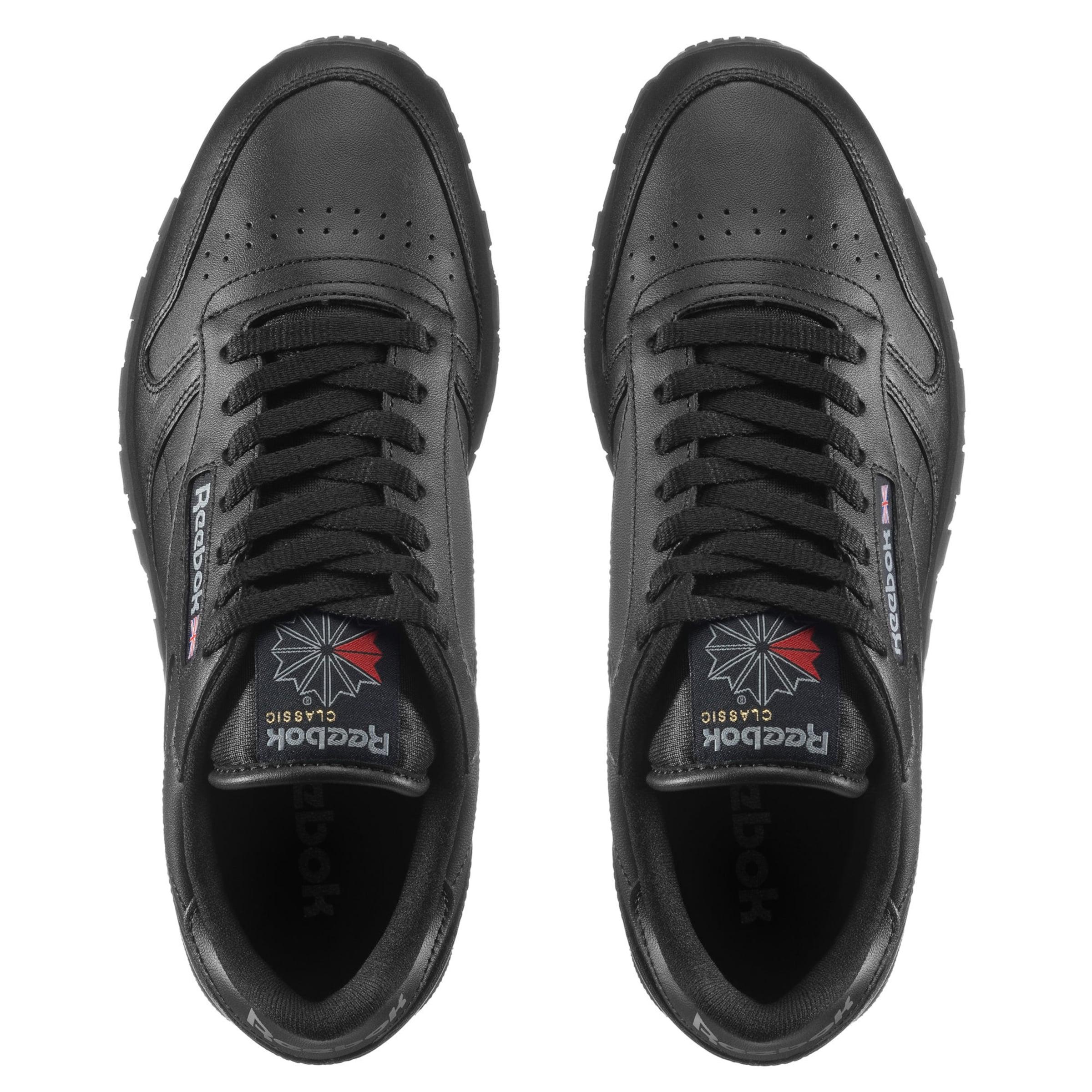 Classic 'classic In Schwarz Leather' Reebok Sneaker I2DEH9