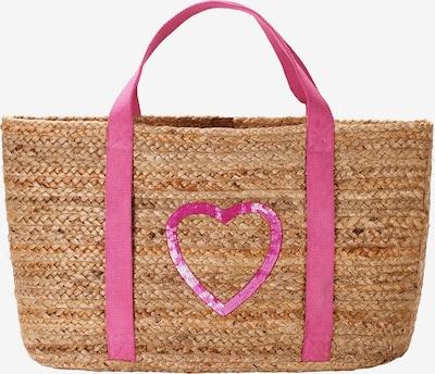 Crickit Shopper 'Malaga' in braun / pink, Produktansicht