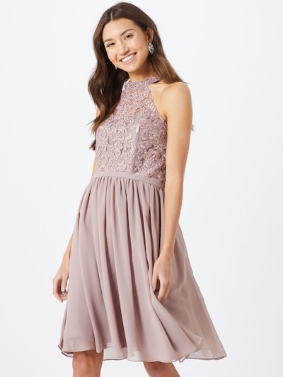 mascara Cocktailkleid in mauve, Modelansicht