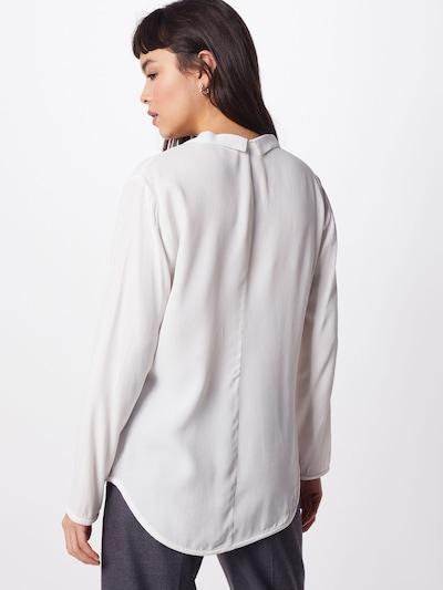 BRUUNS BAZAAR Bluzka w kolorze białym: Widok od tyłu