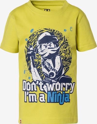 LEGO T-Shirt 'Ninjago' in blau / gelb, Produktansicht