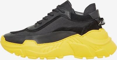J.Lindeberg Sneakers laag 'Space Runner Mixton' in de kleur Limoen / Zwart, Productweergave