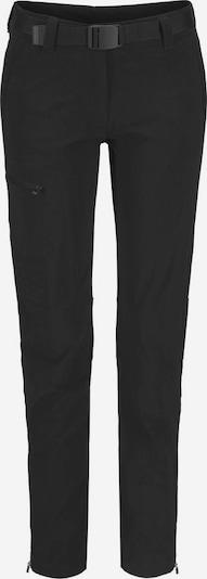 Maier Sports Wanderhose 'Inara' in schwarz, Produktansicht