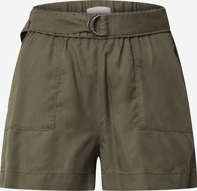 ONLY Shorts 'ONLARIZONA BELT LYOCELL SHORTS PNT' in oliv, Produktansicht