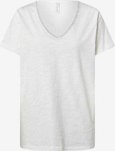 Soyaconcept T-Shirt 'SC-BABETTE 13 T-Shirt' in offwhite, Produktansicht