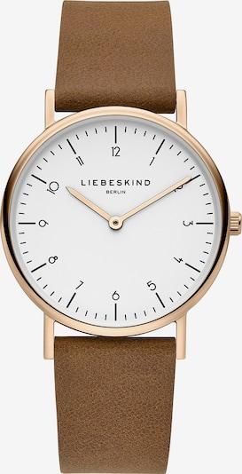 Liebeskind Berlin Uhr 'LT-0168-LQ' in brokat / rosegold / weiß, Produktansicht