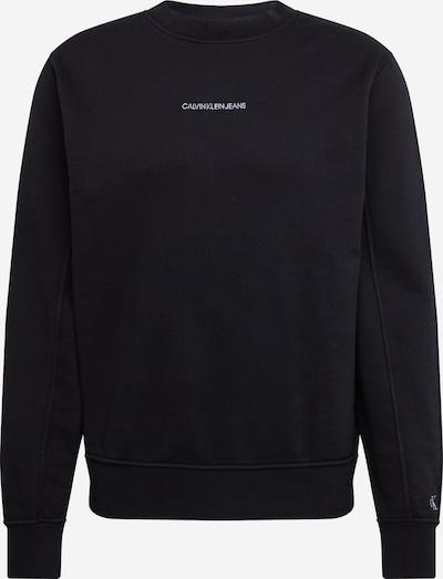 Bluză de molton 'INSTIT' Calvin Klein Jeans pe negru, Vizualizare produs