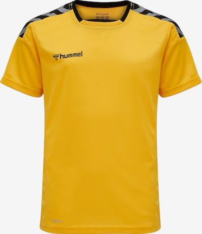 Hummel Funktionsshirt in gelb / grau / schwarz, Produktansicht