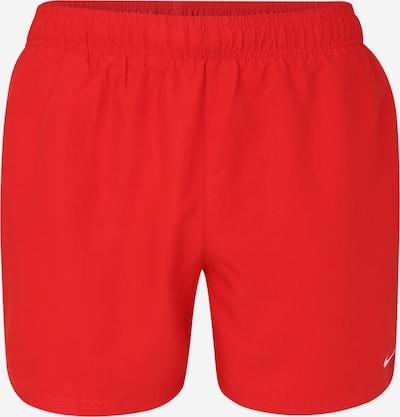 NIKE Badeshorts in rot / weiß, Produktansicht