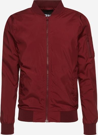 Urban Classics Prehodna jakna | vinsko rdeča barva, Prikaz izdelka