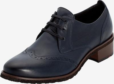 LLOYD Schnürschuh mit Blockabsatz in dunkelblau, Produktansicht