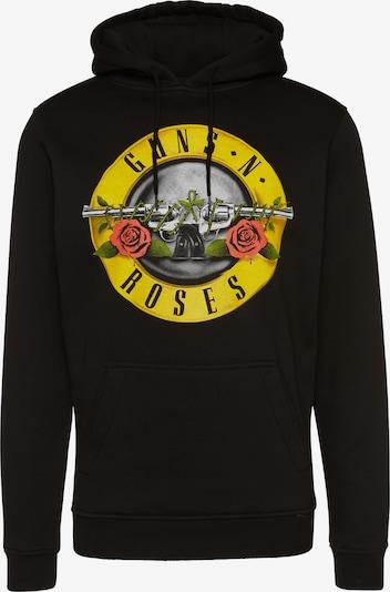 Merchcode Mikina 'Guns n' Roses' - žlté / čierna, Produkt