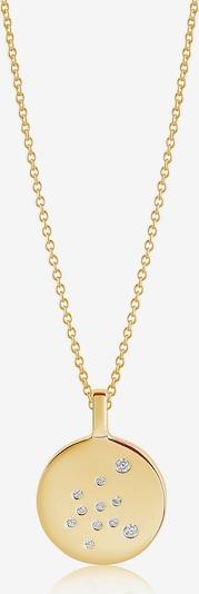 Sif Jakobs Kette 'Sternzeichen Wassermann' in gold, Produktansicht