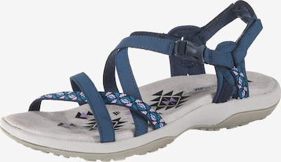 SKECHERS Sandale in blau / altrosa, Produktansicht
