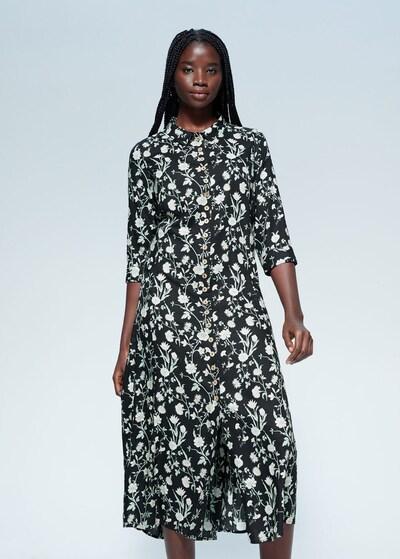 VIOLETA by Mango Kleid 'VESTIDO WILSON' in schwarz, Modelansicht