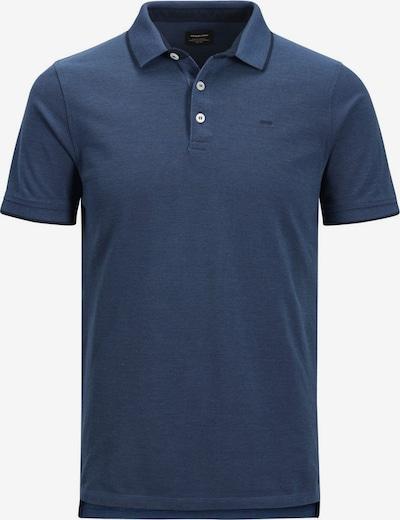 JACK & JONES Poloshirt in taubenblau / dunkelblau, Produktansicht