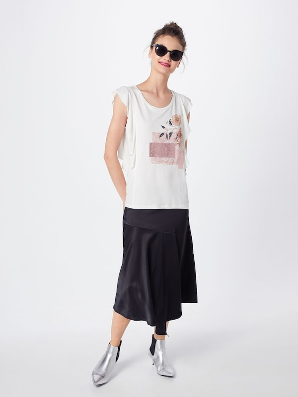 T CouleursCorail Cream T 'milano De shirt Mélange En shirt' ZNOn0wX8kP