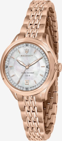 Maserati Analoog horloge 'Traguardo' in de kleur Pink, Productweergave