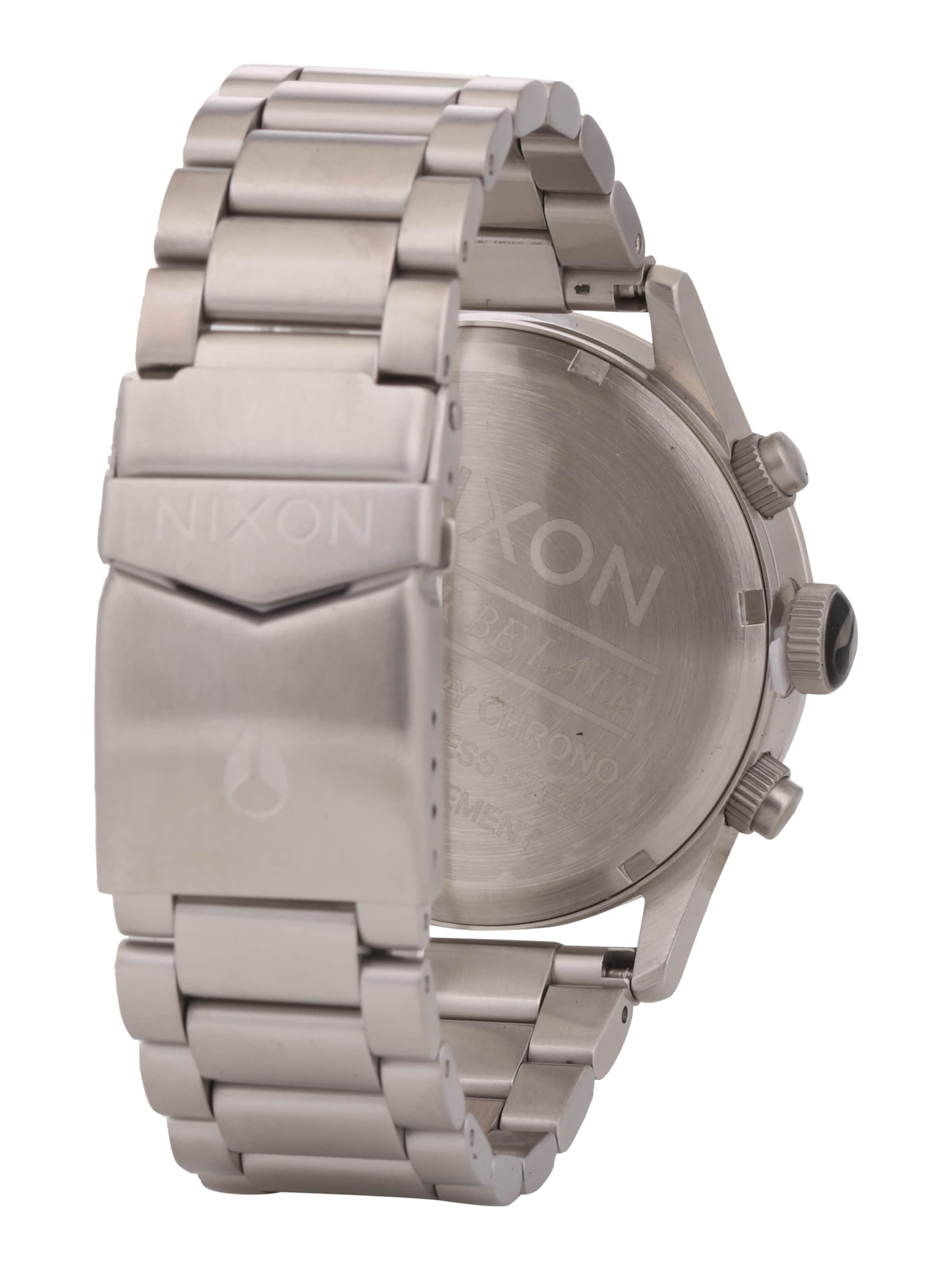 MmIn Armbanduhr Totalisatoren Nixon SchwarzSilber Mit 'sentry Chrono'gehäuse 40 zMSUVp