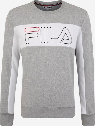 FILA Sweatshirt 'Randy' in navy / grau / rot / weiß, Produktansicht