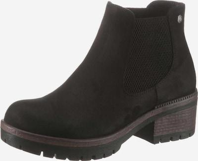 RIEKER Chelsea boots in de kleur Zwart: Vooraanzicht