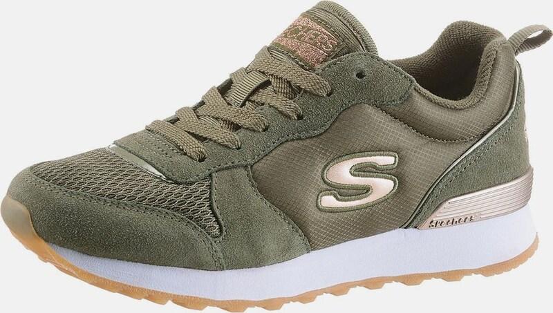 Leder, Textil SKECHERS Sneaker Low 'Goldn gurl' in gold