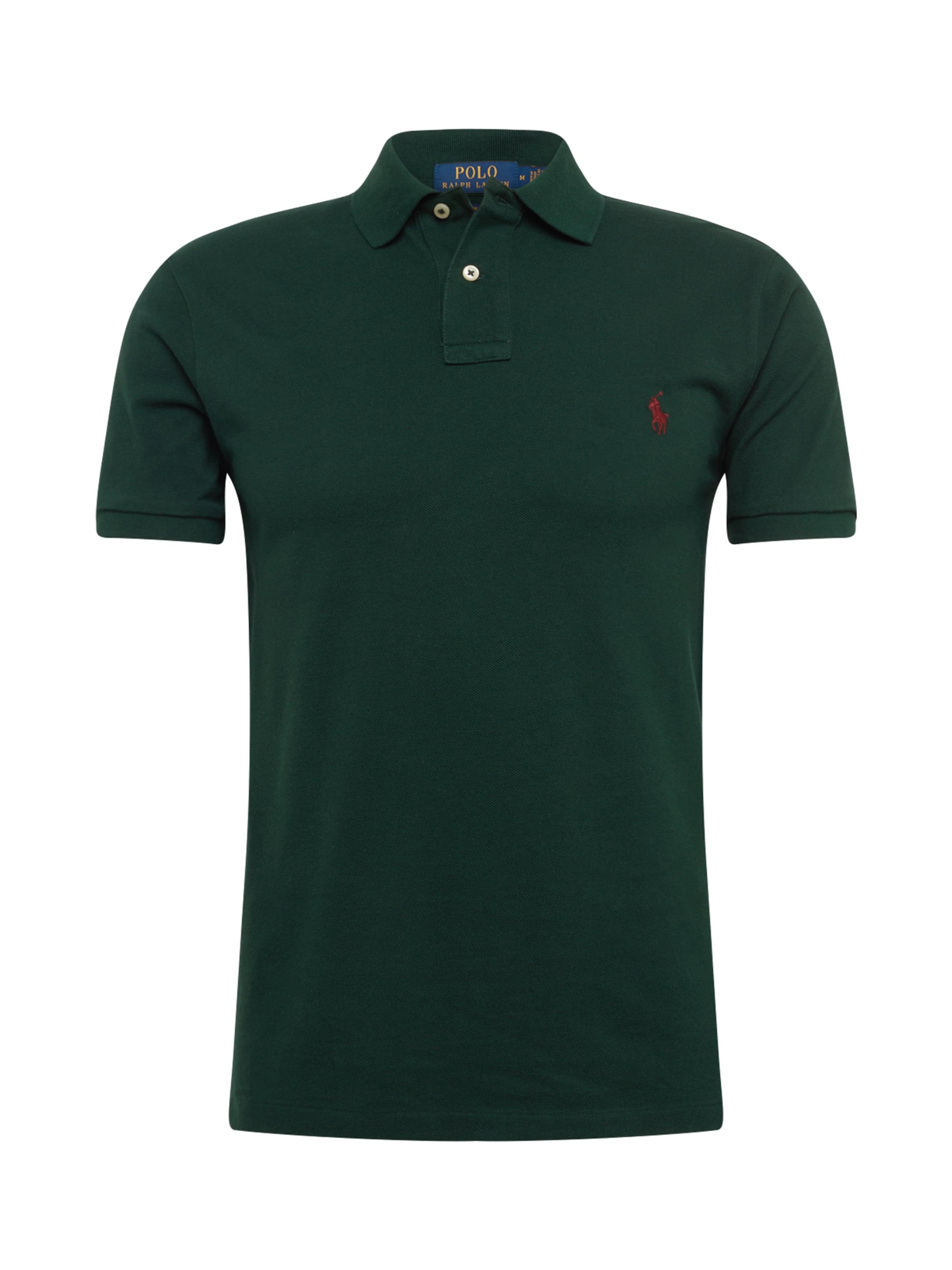 En shirt Polo Foncé Lauren 'sskcslm1 T Ralph knit' short Sleeve Vert qUVzMpS