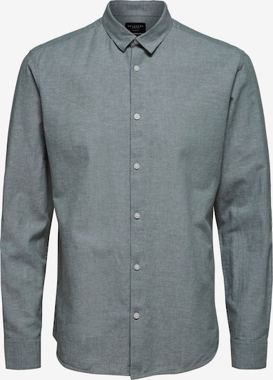 SELECTED HOMME Slim Fit Hemd in grau, Produktansicht
