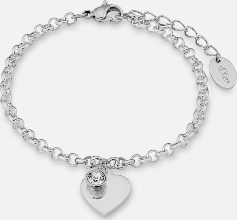s.Oliver RED LABEL Armband mit Swarovski® Kristall