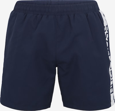 BOSS Casual Short 'Dolphin 10180964 01' in navy / weiß, Produktansicht