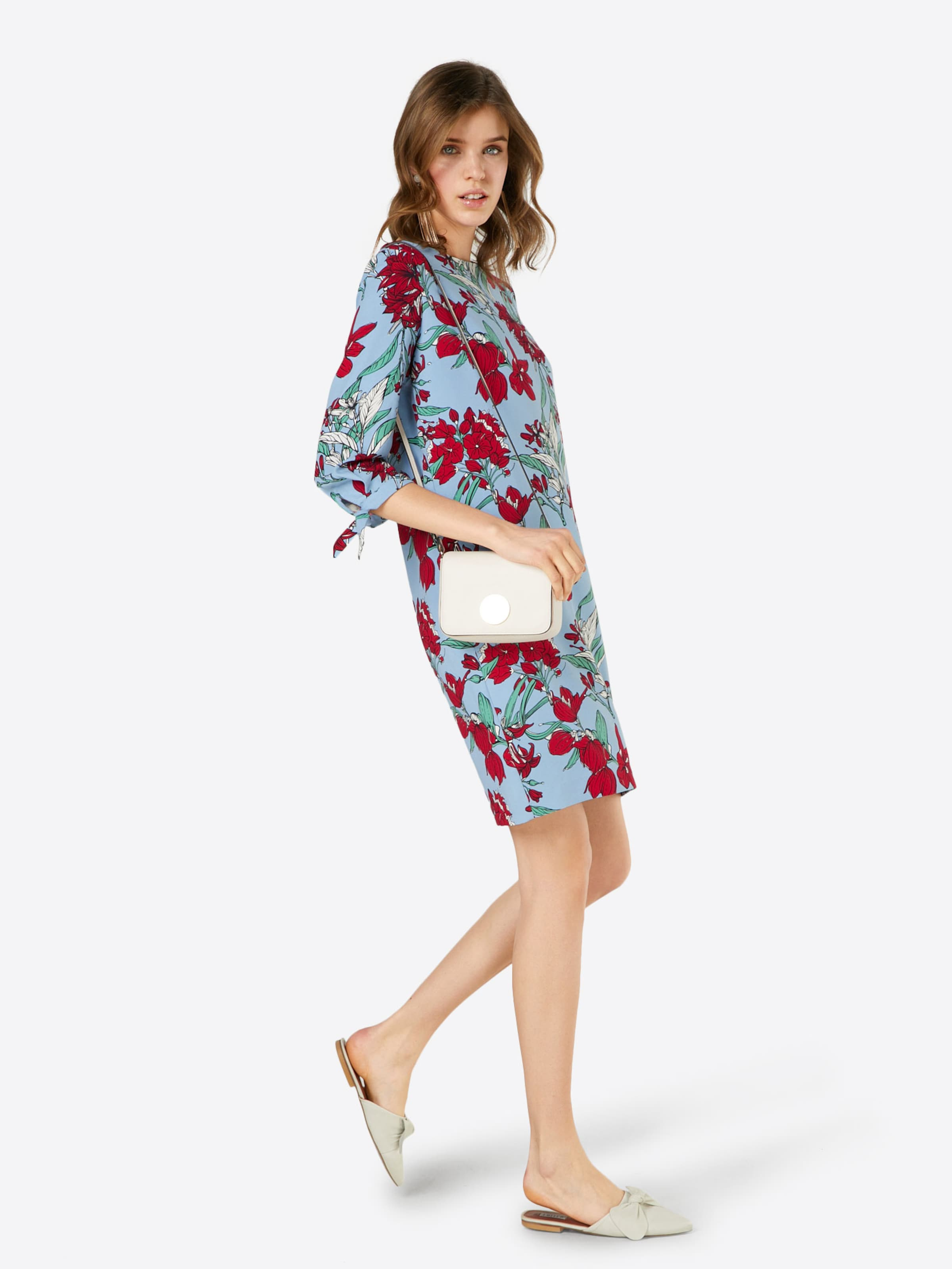 s.Oliver RED LABEL Kleid mit floralem Muster Kaufen Neueste ZbUKOaE