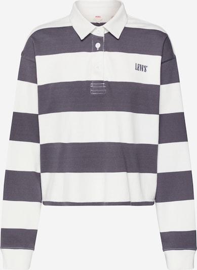 LEVI'S Tričko 'LETTERMAN RUGBY' - černá / bílá, Produkt