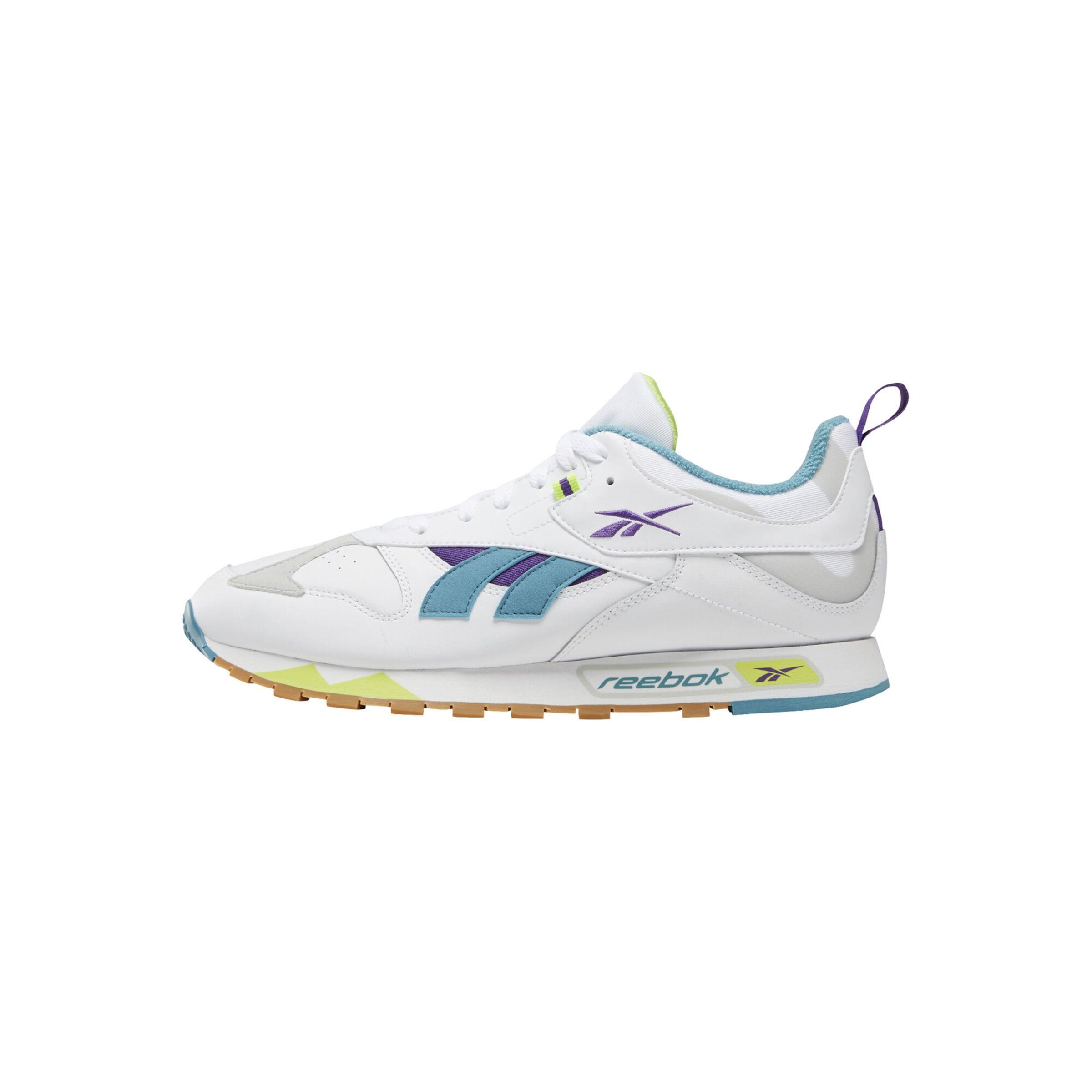 Sneaker In Lila Classic Reebok BlauGrün Naturweiß 3Rqcj54SAL