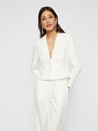 Y.A.S Blazer in weiß, Modelansicht