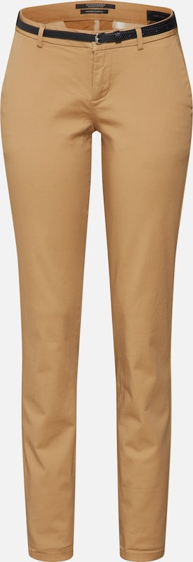 SCOTCH & SODA Pantalon chino 'Slim fit chino' en sable, Vue avec produit
