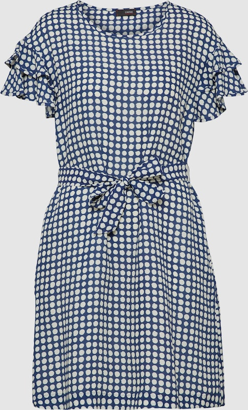 CINQUE Kleid 'CITEENA' in navy   weiß  Markenkleidung für Männer und Frauen
