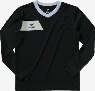 ERIMA Shirt in schwarz / weiß, Produktansicht