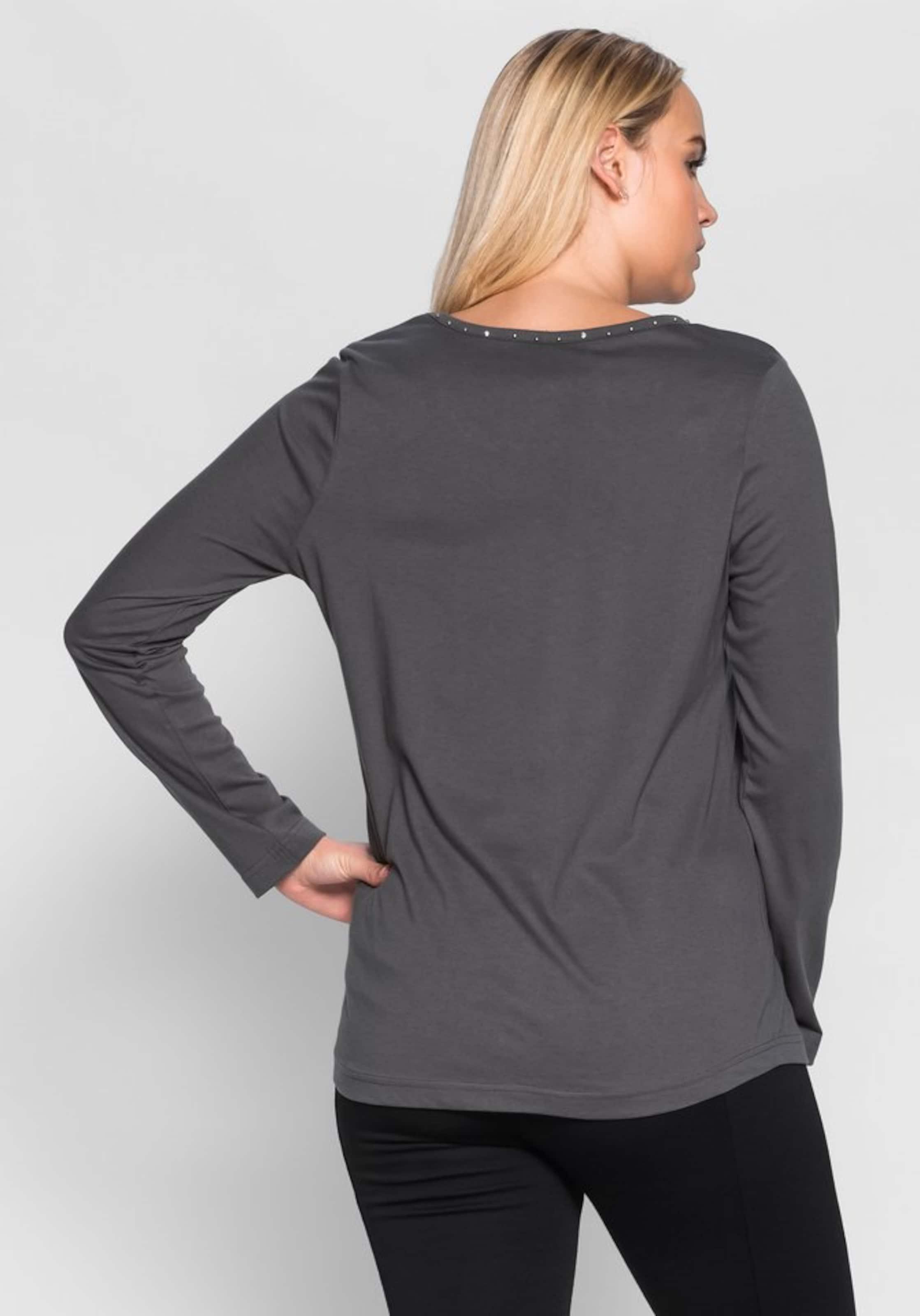 Verkauf Klassische sheego casual Langarmshirt Spielraum Perfekt Freies Verschiffen Veröffentlichungstermine Versand Rabatt Verkauf dWwKyAC