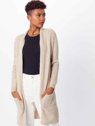 ONLY Gebreid vest 'Jade' in de kleur Crème / Lichtbeige, Modelweergave