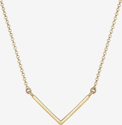 ELLI Ketting 'Dreieck, Geo' in de kleur Goud, Productweergave