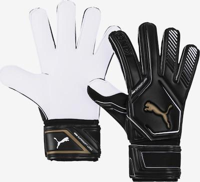 PUMA Torwarthandschuhe in schwarz / weiß, Produktansicht