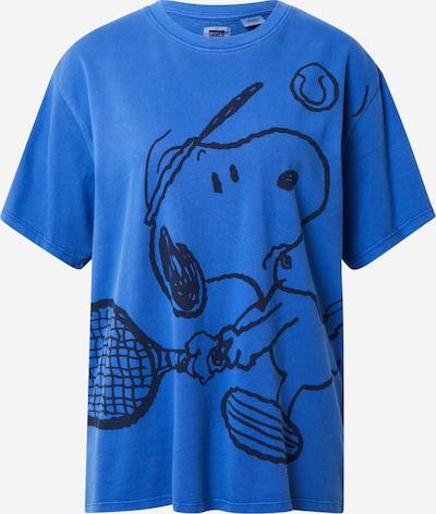 LEVI'S Shirt 'GRAPHIC RLXED OVERSZE' in de kleur Blauw, Productweergave