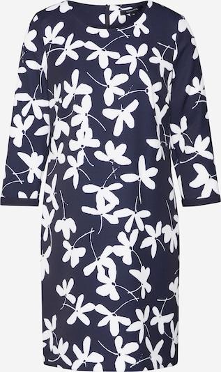 COMMA Robe-chemise en noir / blanc, Vue avec produit