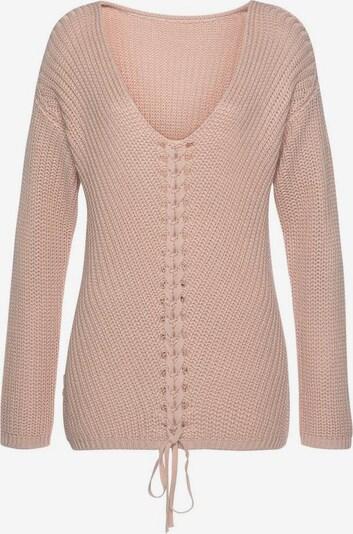 LASCANA Pullover in rosé, Produktansicht