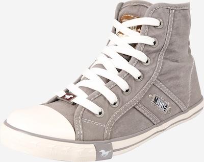 MUSTANG Sneaker in silbergrau, Produktansicht