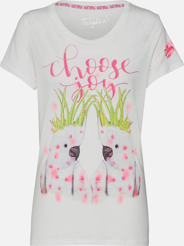 Shirt 'shirt Parots' With Frogbox Wit In LUVqSMGpz