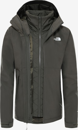 THE NORTH FACE Doppeljacke 'CARTO TRICLIMATE®' in khaki / weiß, Produktansicht