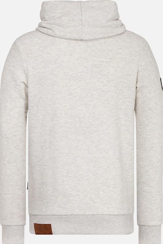 naketano Sweatshirt 'Der Muschiflüsterer'