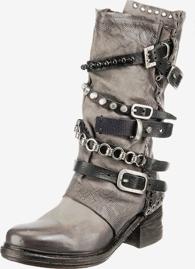 A.S.98 Stiefel in grau: Frontalansicht
